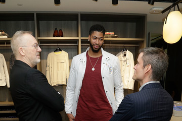 Jim Moore NBA All-Star Anthony Davis Celebrates His Latest Saks Fifth Avenue x Anthony Davis Collection at Saks Downtown Men's