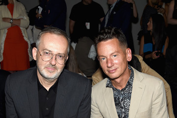 Jim Nelson The John Varvatos Front Row at New York Fashion Week