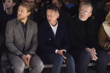 Jim Nelson CALVIN KLEIN COLLECTION - Front Row - Milan Menswear Fashion Week Fall Winter 2015/2016