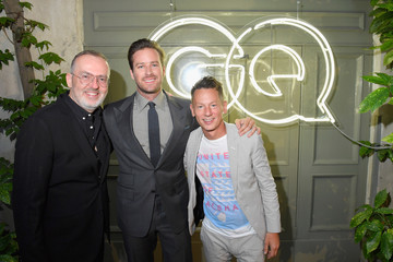Jim Nelson GQ Celebrates Milan Men's Fashion Week With Armie Hammer and Virgil Abloh