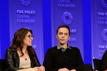 Jim Parsons Mayim Bialik The Paley Center for Media's 33rd Annual PaleyFest Los Angeles - 'The Big Bang Theory' - Inside