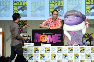 Jim Parsons DreamWorks Animation Presentation at Comic-Con