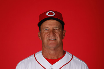 Jim Riggleman Cincinnati Reds Photo Day
