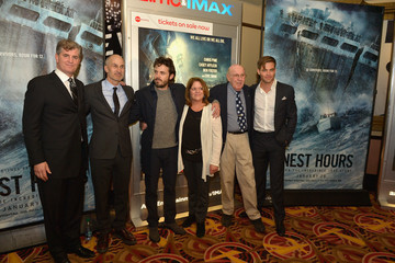 Jim Whitaker Boston Embraces Chris Pine and Casey Affleck at the Finest Hours Special Screening for the Hometown Crowd
