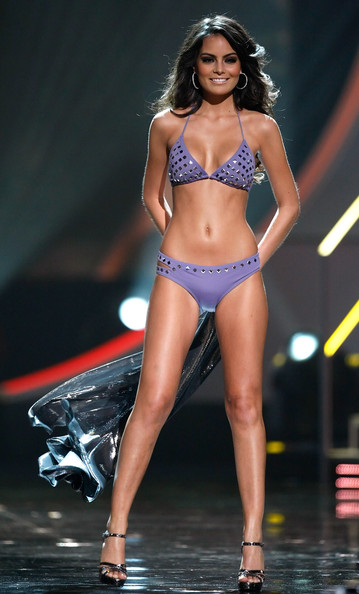 Jimena Navarrete Miss Mexico 2010, Jimena Navarrete, competes in the swimsuit competition during the 2010 Miss Universe Pageant at the Mandalay Bay Events Center August 23, 2010 in Las Vegas, Nevada. Navarrete went on to be crowned the new Miss Universe.