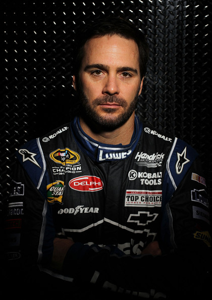 Jimmie+Johnson+2012+NASCAR+Media+Day+Sty
