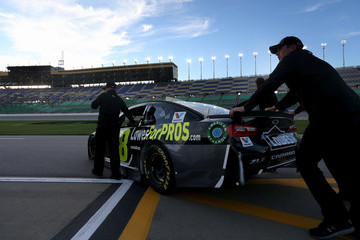 Jimmie Johnson Kansas Speedway - Day 1