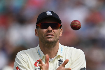 Jimmy Anderson England v South Africa - 3rd Investec Test: Day Three