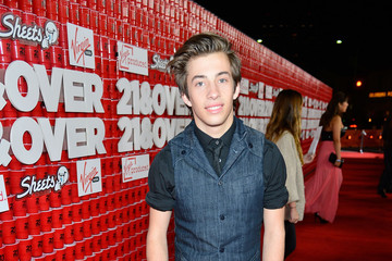 """Jimmy Bennett Premiere Of Relativity Media's """"21 and Over"""" - Red Carpet"""