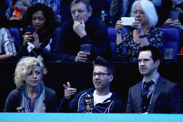 Jimmy Carr Day Seven - Barclays ATP World Tour Finals