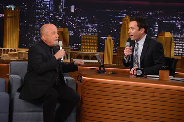 Jimmy Fallon Billy Joel Visits 'The Tonight Show'
