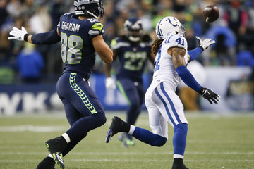 Jimmy Graham Indianapolis Colts vSeattle Seahawks