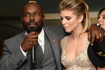 Jimmy Jean-Louis AnnaLynne McCord 8th Annual Hollywood Domino Gala Presented By BOVET 1822 Benefiting Artists For Peace And Justice