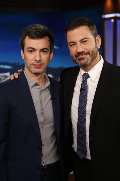 "ABC's ""Jimmy Kimmel Live"" - Season 15 [jimmy kimmel live,season,suit,white-collar worker,formal wear,event,premiere,smile,photography,facial hair,businessperson,tuxedo,jimmy kimmel,jason isbell,guests,nathan fielder,comedians,lineup,abc,weeknight]"