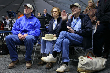 Jonathan Reckford Jimmy And Rosalynn Carter Take Part In Habitat For Humanity Carter Work Project