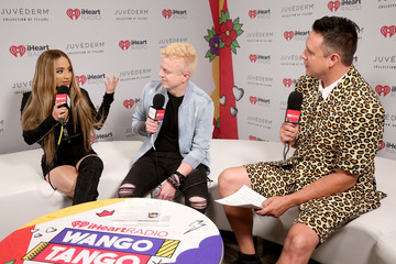 JoJo Wright Jesse Lozano 2019 iHeartRadio Wango Tango Presented By The JUVÉDERM® Collection Of Dermal Fillers - Backstage