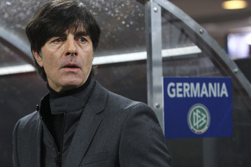 Joachim Low Italy v Germany - International Friendly