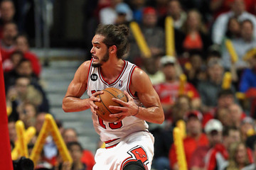 Joakim Noah Washington Wizards v Chicago Bulls
