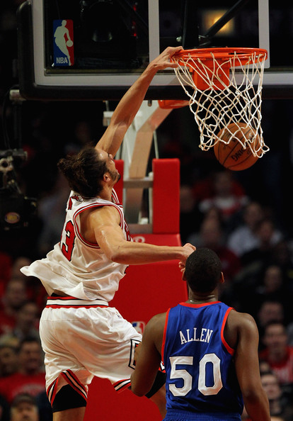 Straight Ballin: Joakim Noah Drops 23 Points 21 Rebounds And 11 Blocked Shots