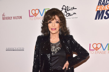 Joan Collins 25th Annual Race To Erase MS Gala - Red Carpet
