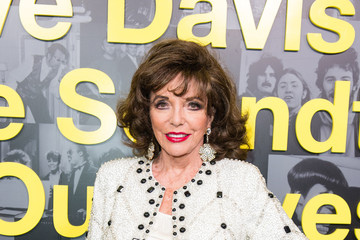 Joan Collins Clive Davis: 'Soundtrack of Our Lives' Special Screening - Red Carpet Arrivals