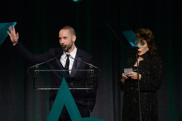 Joan Collins Inside the Accessories Council ACE Awards