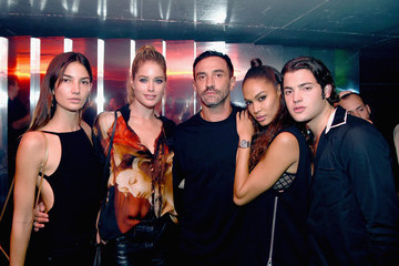 Joan Smalls Lily Aldridge In Focus: Model Moments from NYFW Spring 2016
