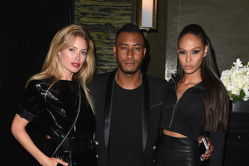 Joan Smalls Balmain And Olivier Rousteing Celebrate After The Met Gala - Inside