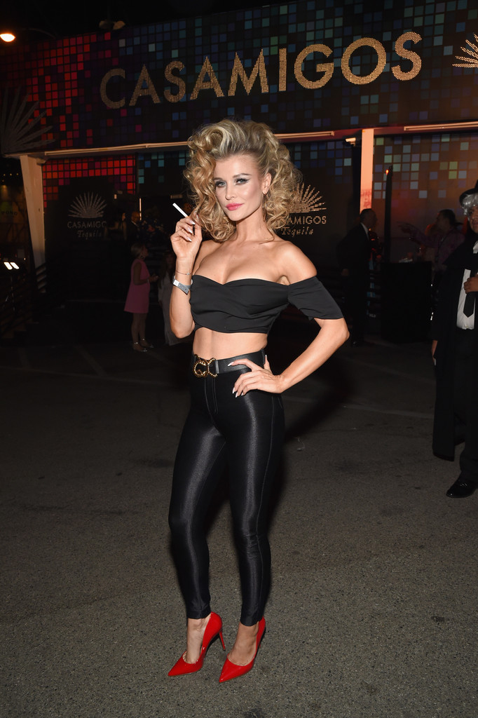 Joanna Krupa arriving at Casamigos Halloween party in Los Angeles, October 27-2017