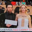 Jocelyn Towne The 23rd Annual Screen Actors Guild Awards - Times Square Viewing