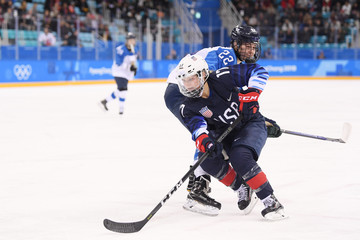 Jocelyne Lamoureux Ice Hockey - Winter Olympics Day 10