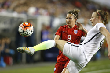 Jodie Taylor 2016 SheBelieves Cup - United States v England