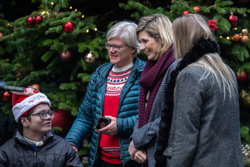Jodie Whittaker No 11 Downing Street Hosts Children's Christmas Party