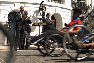 Joe Biden Wounded Warrior Project Soldier Ride
