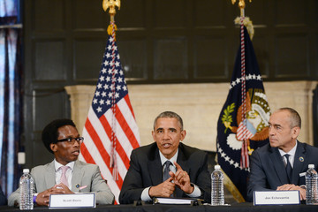 Joe Echevarria President Obama Launches the My Brother's Keeper Alliance at Lehman College