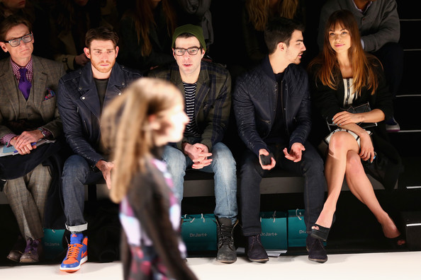 Front Row at the Richard Chai Show