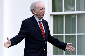 Joe Lieberman Job Candidates for FBI Director Meet With President Trump at White House