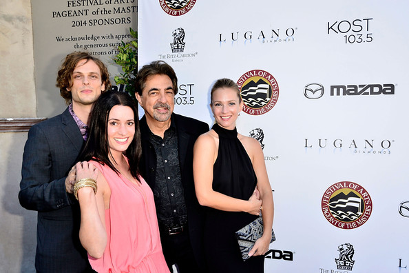Festival of Arts Celebrity Benefit Concert and Pageant [event,award,red carpet,premiere,carpet,aj cook,joe mantegna,matthew grat gubler,paget brewster,l-r,laguna beach,festival,arts celebrity benefit concert,pageant,festival of arts celebrity benefit concert and pageant]