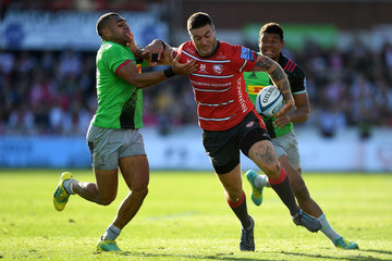 Joe Marchant Gloucester Rugby vs. Harlequins - Gallagher Premiership Rugby