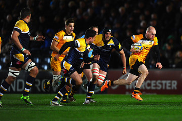 Joe Simpson Worcester Warriors v London Wasps