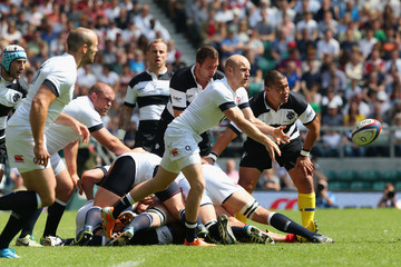 Joe Simpson England v Barbarians