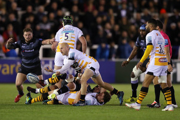 Joe Simpson Newcastle Falcons vs. Wasps - Gallagher Premiership Rugby