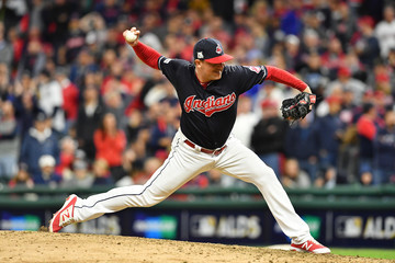 Joe Smith Divisional Round - New York Yankees v Cleveland Indians - Game Five