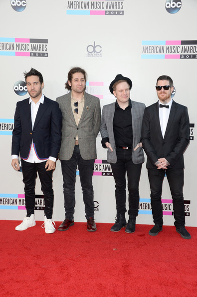 Joe Trohman And Andy Hurley Photos Photos Arrivals At The American