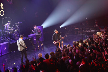 Joe Trohman Andy Hurley iHeartRadio Album Release Party With Fall Out Boy at The iHeartRadio Theater