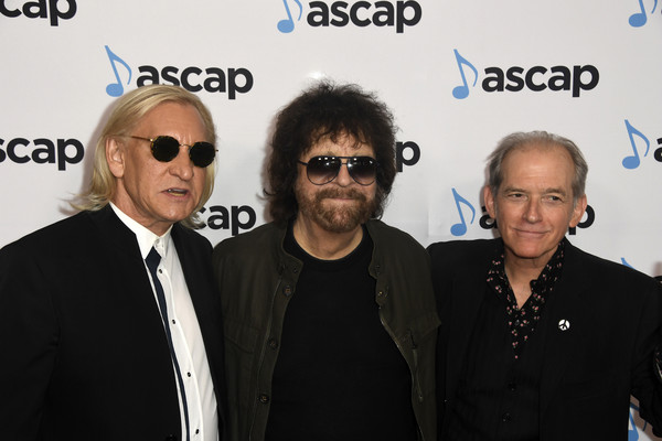 36th Annual ASCAP Pop Music Awards - Arrivals [eyewear,event,premiere,glasses,arrivals,benmont tench,jeff lynne,joe walsh,ascap pop music awards,l-r,california,beverly hills,the beverly hilton hotel]