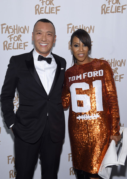 Naomi Campbell's Fashion For Relief Charity Fashion Show - Arrivals []