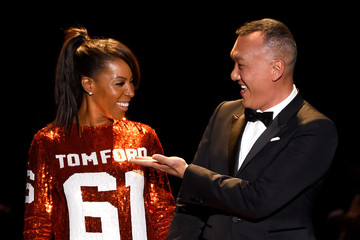 Joe Zee June Ambrose Naomi Campbell's Fashion For Relief Charity Fashion Show - Runway
