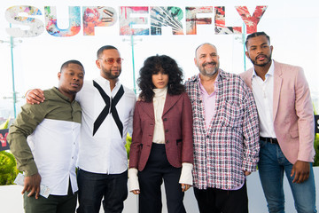 Joel Silver Photo Call For Sony Pictures Entertainment's 'SuperFly'
