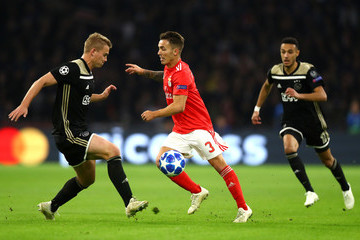 Joel Veltman Ajax vs. SL Benfica - UEFA Champions League Group E